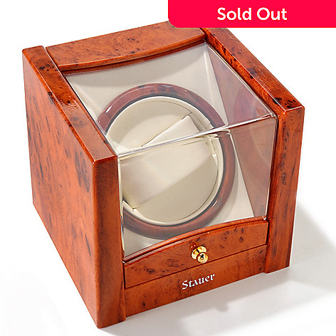 614-192 - Stauer Select Single Watch Winder w/ Display Window