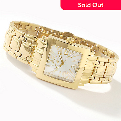 614-859 - Swiss Legend Women's Colosso Stainless Steel Swiss Quartz Bracelet Watch