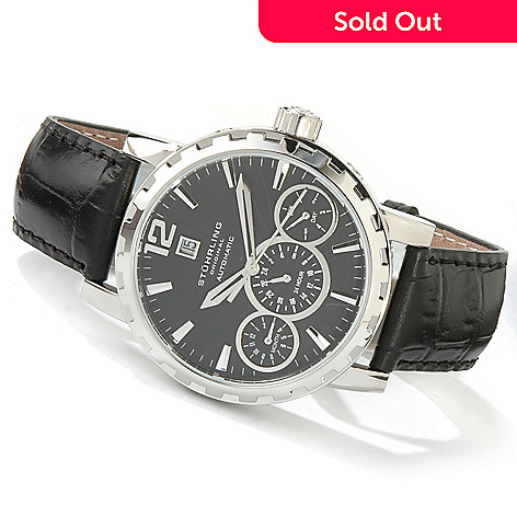 615-294 - Stührling Original Men's ''The Louie'' Master Calendar Automatic Watch