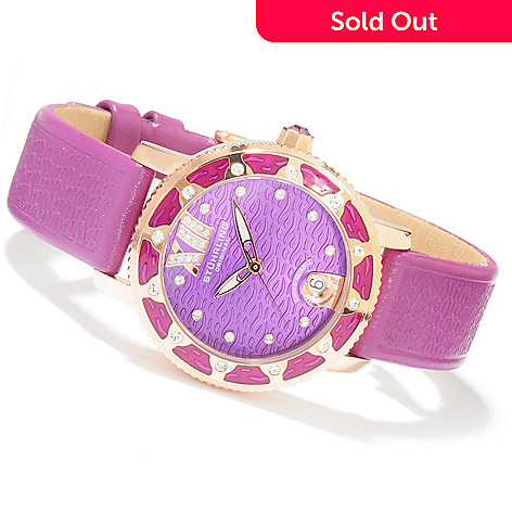 616-053 - Stührling Original Women's Marina Strap Watch Made w/ Swarovski® Elements