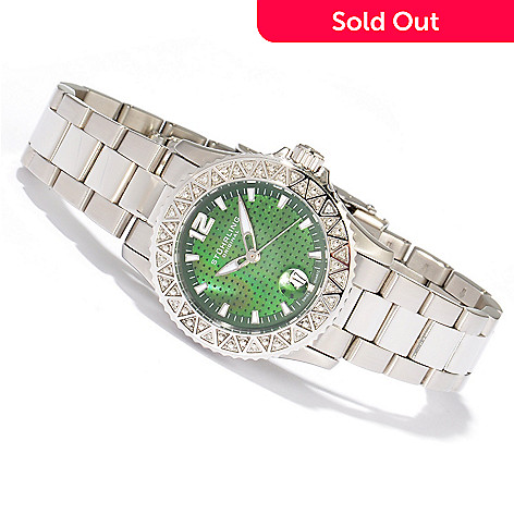 616-268 - Stuhrling Original Women's Regatta Madam Diamond Accented Stainless Watch