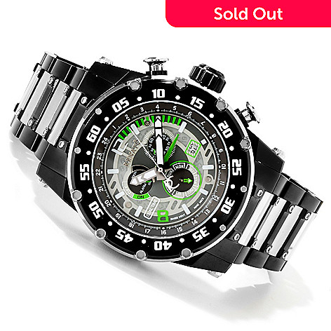 616-680 - Renato 50mm Buzo Extreme Stainless Steel Bracelet Watch