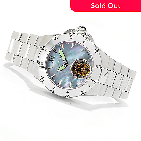 616-713 -  Android 45mm Enforcer 45 Automatic Flying Tourbillon Bracelet Watch