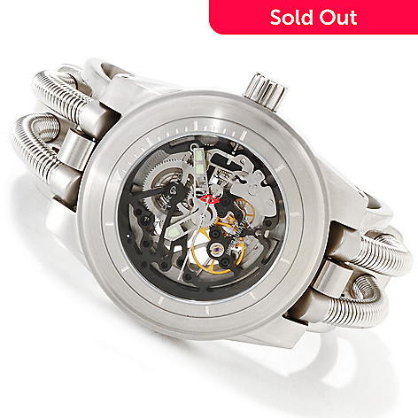 616-742 - Android Men's Hydraumatic G7 Automatic Stainless Steel Cuff Bracelet Watch