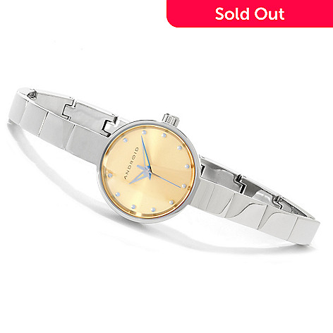 616-748 - Android Women's Mini Star Quartz Stainless Steel Bracelet Watch
