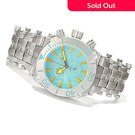 616-749 - Android Men's Millipede Chrono ''Super Luminova'' Stainless Steel Bracelet Watch