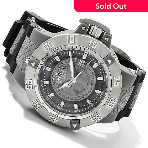 616-793 - Invicta Men's Subaqua Noma III Quartz Translucent Dial Polyurethane Strap Watch
