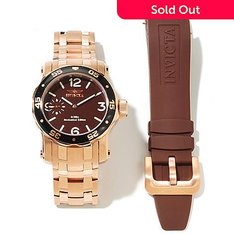 617-034 - Invicta Men's Pro Diver Scuba Mechanical Interchangeable Stainless Steel Bracelet Watch