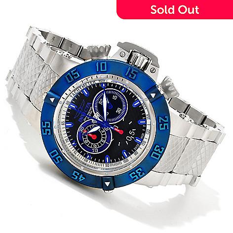 617-077 - Invicta Men's Subaqua Noma III Swiss Quartz Chronograph Stainless Steel Bracelet Watch