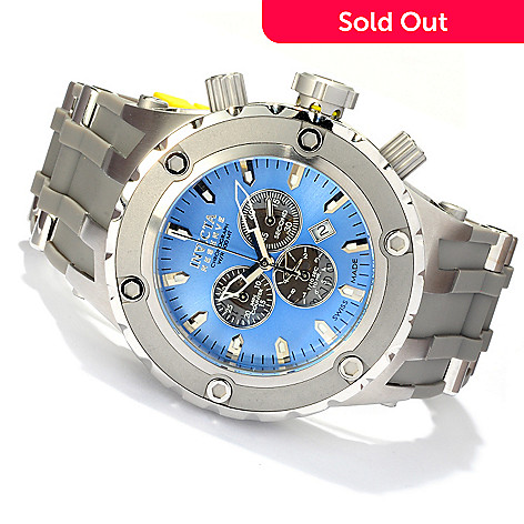 617-080 - Invicta Reserve Men's Specialty Subaqua ''Puppy Edition'' Swiss Quartz Chronograph Strap Watch