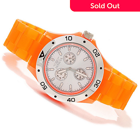 617-098 - Invicta Men's Anatomic Quartz Sunray Dial Thermo Polymer Bracelet Watch