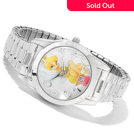 617-149 - Disney Women's Tinker Bell Classic Quartz Expansion Bracelet Watch