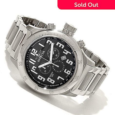 617-175 - Invicta Men's Off Shore Russian Diver Swiss Quartz Chronograph Stainless Steel Bracelet Watch