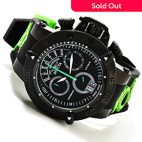 617-257 - Invicta Men's Subaqua Noma III Swiss Quartz Chronograph Silicone Strap Watch