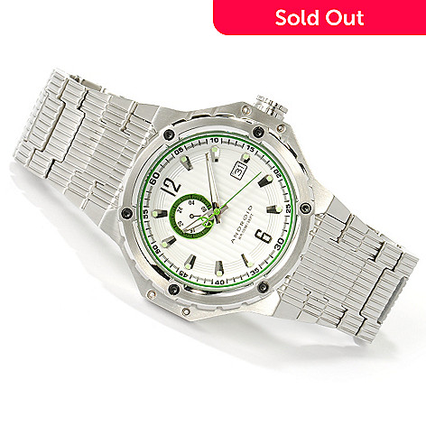617-267 - Android Men's Emprise Automatic Stainless Steel Bracelet Watch