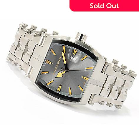 617-276 - Android Men's Millipede 1 Stainless Steel Bracelet Watch