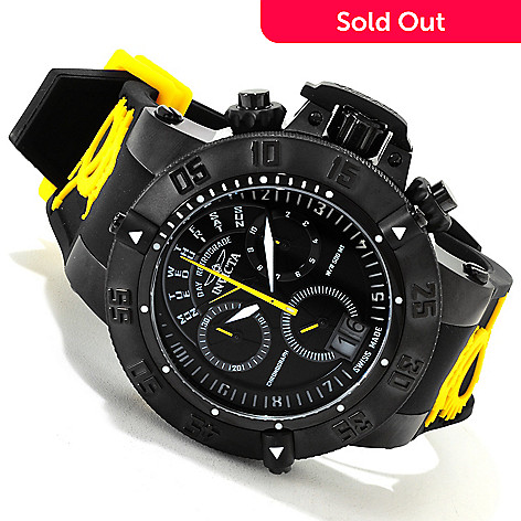 617-296 - Invicta Men's Subaqua Noma III Swiss Made Quartz Chronograph Silicone Strap Watch