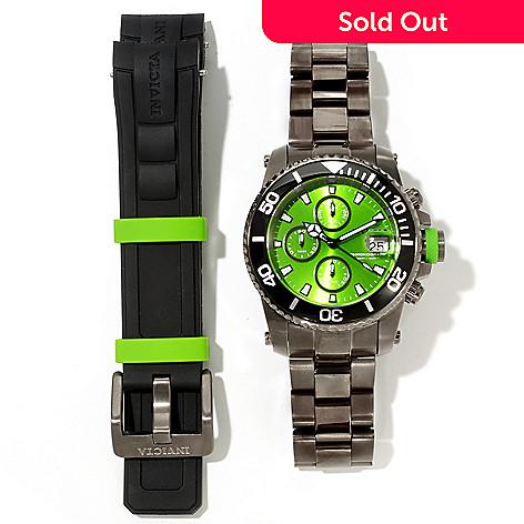 617-339 - Invicta Men's Pro Diver Quartz Chronograph Interchangeable Stainless Steel Bracelet Watch
