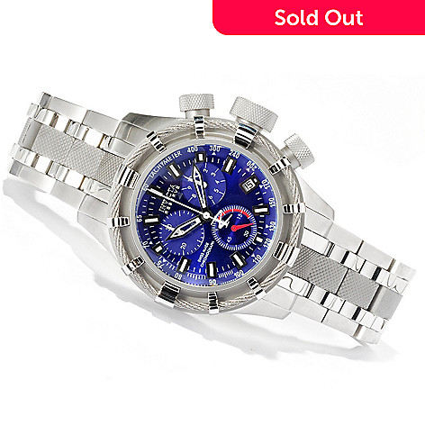 617-360 - Invicta Reserve Men's Bolt Swiss Quartz Chronograph Bracelet Watch w/ Three-Slot Dive Case