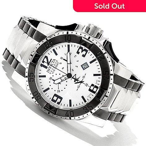 617-380 - Invicta Reserve Men's Excursion Swiss Made Quartz Chronograph Bracelet Watch