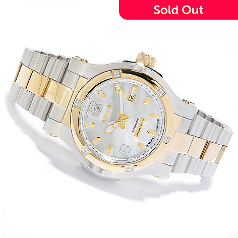617-391 - Renato T-Rex Gen II Limited Edition Swiss Automatic Diamond Accented Bracelet Watch