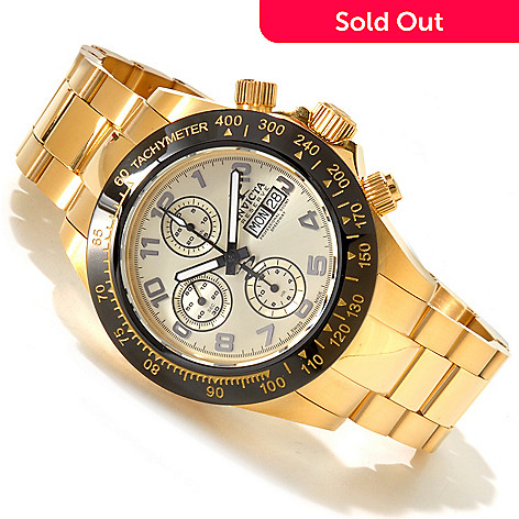 617-461 - Invicta Reserve Men's Speedway Swiss Chronograph Valjoux 7750 Stainless Steel Bracelet Watch