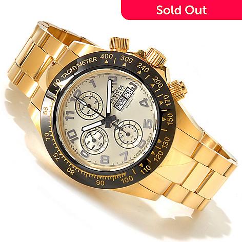 617-461 - Invicta Reserve Men's Speedway Swiss Chronograph Valjoux 7750 Stainless Steel Bracelet Watch