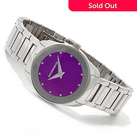 617-729 - Android Women's Ultra Quartz Stainless Steel Bracelet Watch