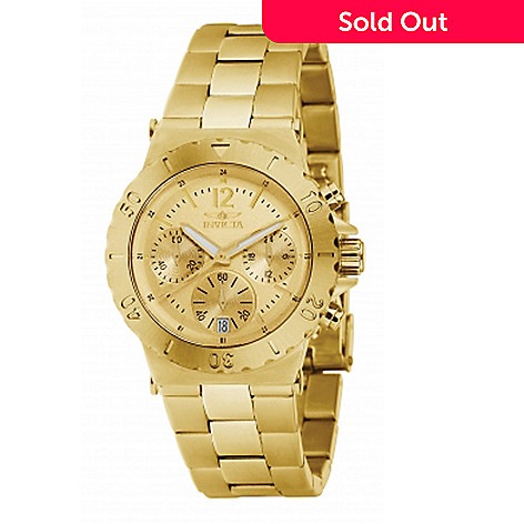 617-757 - Invicta Women's Specialty Diver Quartz Chronograph Stainless Steel Bracelet Watch