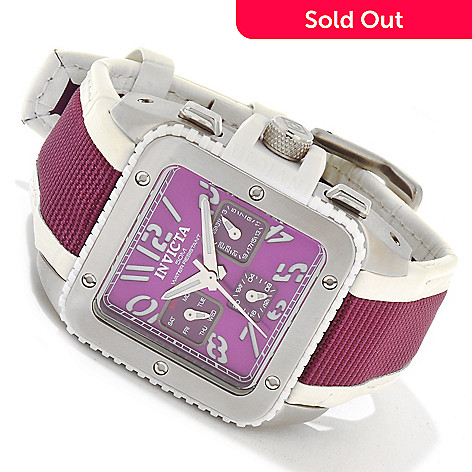 617-835 - Invicta Women's Cuadro Quartz Stainless Steel Case Strap Watch