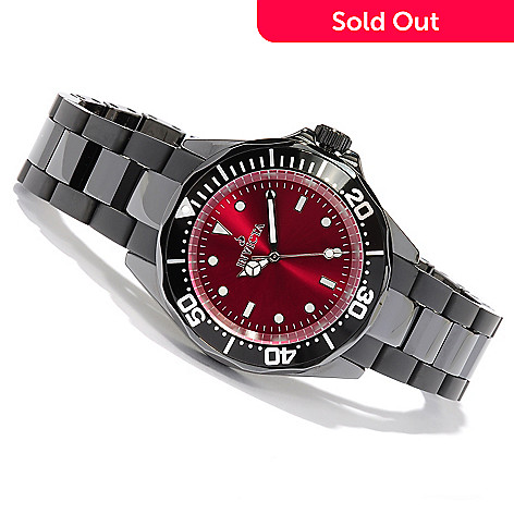 617-836 - Invicta Women's Pro Diver Ceramic Quartz Sunray Dial Bracelet Watch