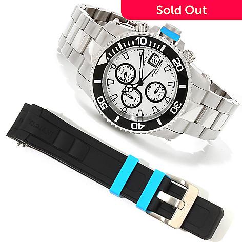 617-844 - Invicta Men's Pro Diver Quartz Chronograph Interchangeable Bracelet Watch