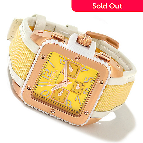 617-846 - Invicta Women's Cuadro Quartz Stainless Steel Case Strap Watch