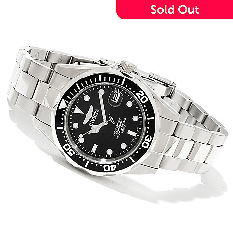 617-855 - Invicta Women's Pro Diver Quartz Stainless Steel Bracelet Watch