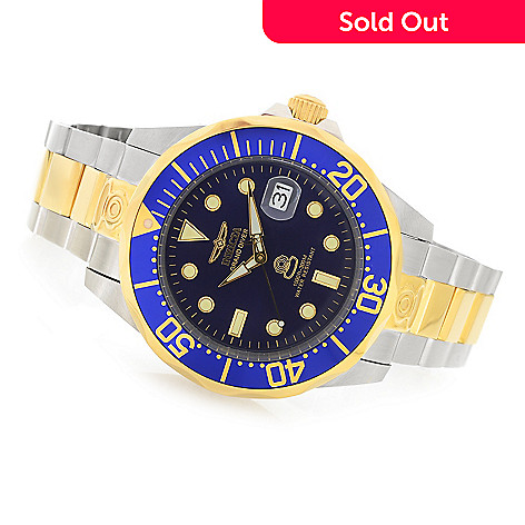 617-856 - Invicta 47mm Grand Diver Automatic Two-tone Stainless Steel Bracelet Watch