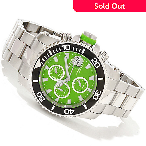 617-860 - Invicta Men's Pro Diver Quartz Chronograph Interchangeable Stainless Steel Bracelet Watch