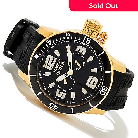 617-892 - Invicta Men's Corduba Diver Quartz Stainless Steel Polyurethane Strap Watch
