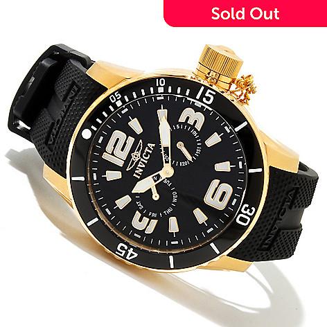 617-892 - Invicta Men's Corduba Diver Quartz Stainless Steel Polyurethane Strap Watch