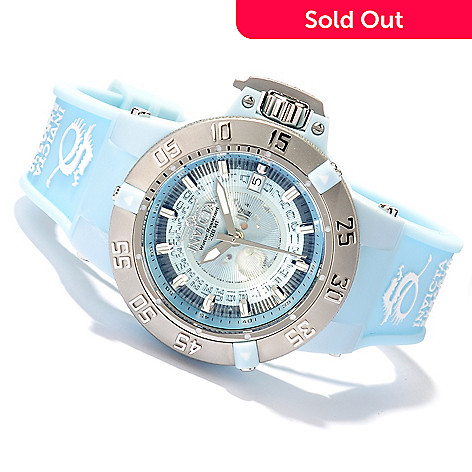 617-894 - Invicta Women's Subaqua Noma III Anatomic Quartz Transparent Dial Strap Watch