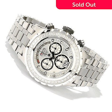 617-929 - Invicta Reserve Men's Specialty Subaqua Swiss Made Quartz Diamond Bracelet Watch