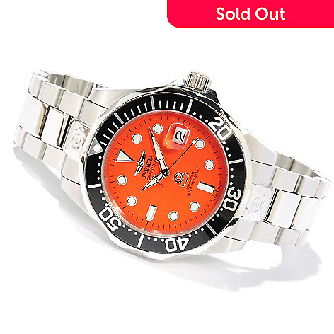 617-939 - Invicta Men's Grand Diver Automatic Stainless Steel Bracelet Watch