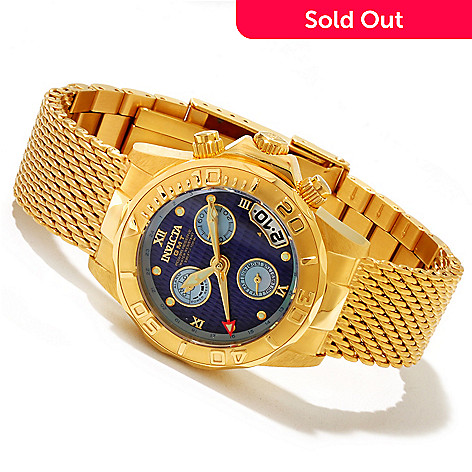 617-991 - Invicta Women's Sea Wizard Limited Edition Quartz GMT & Alarm Bracelet Watch