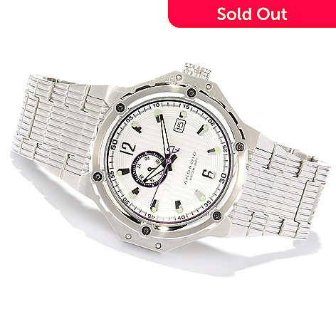 618-030 - Android Men's Emprise Automatic Stainless Steel Bracelet Watch
