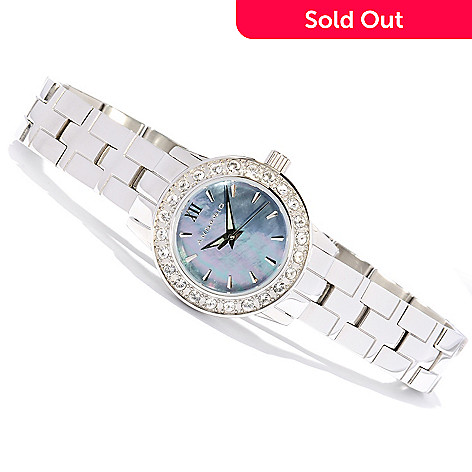 618-034 - Android Women's Venus Quartz Stainless Steel Bracelet Watch Made w/ Swarovski® Elements