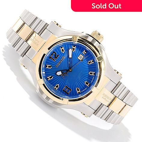 618-036 - Renato Men's T-Rex GEN II Limited Edition Swiss Automatic Stainless Steel Bracelet Watch