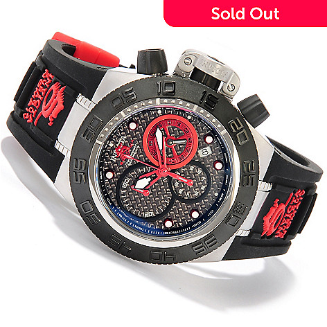 618-251 - Invicta Mid-Size Subaqua Sport Quartz Chronograph Stainless Steel Silicone Strap Watch
