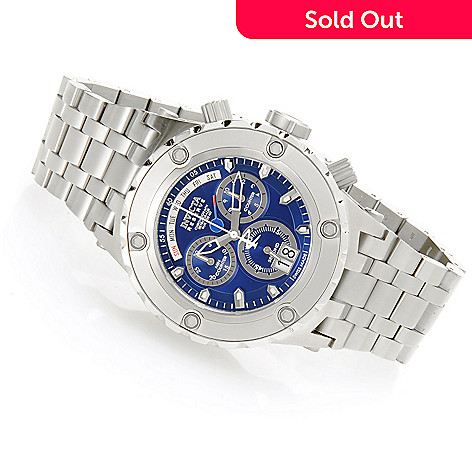 618-266 - Invicta Reserve 52mm Specialty Subaqua Swiss Made Quartz Chronograph Bracelet Watch