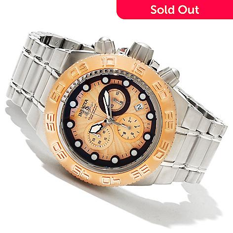 618-346 - Invicta Mid-Size Subaqua Sport Quartz Chronograph Stainless Steel Bracelet Watch