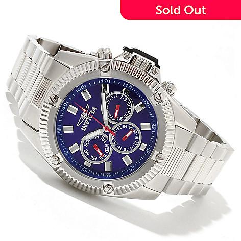 618-400 - Invicta Men's Specialty Sport Quartz GMT Stainless Steel Bracelet Watch w/ 3-Slot Dive Case