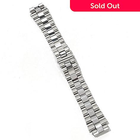 618-411 - Renato Interchangeable Silver-tone Stainless Steel Bracelet